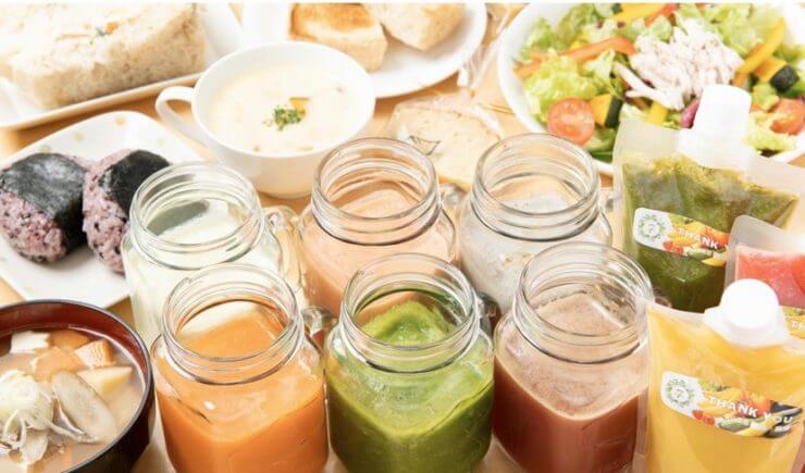 menuデリバリーの加盟店(7Leaf Juice)