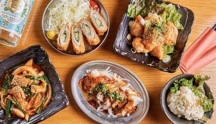 menuデリバリーの加盟店(渋谷三丁目酒場)