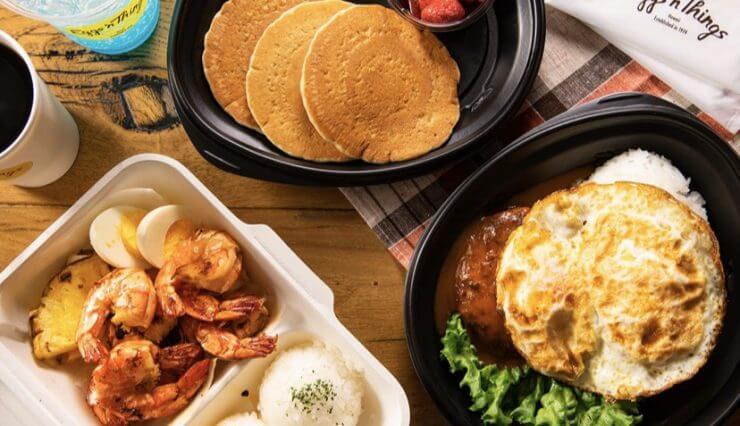 menuデリバリーの加盟店(Egg`n Things 原宿店)