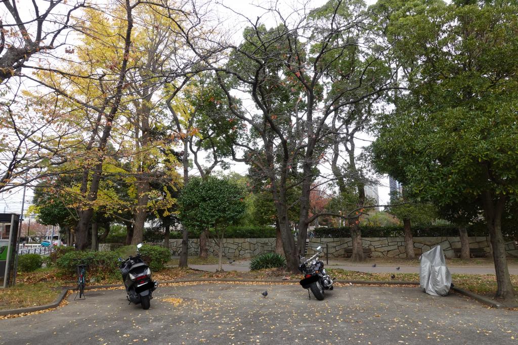 川崎市中原平和公園の駐輪場