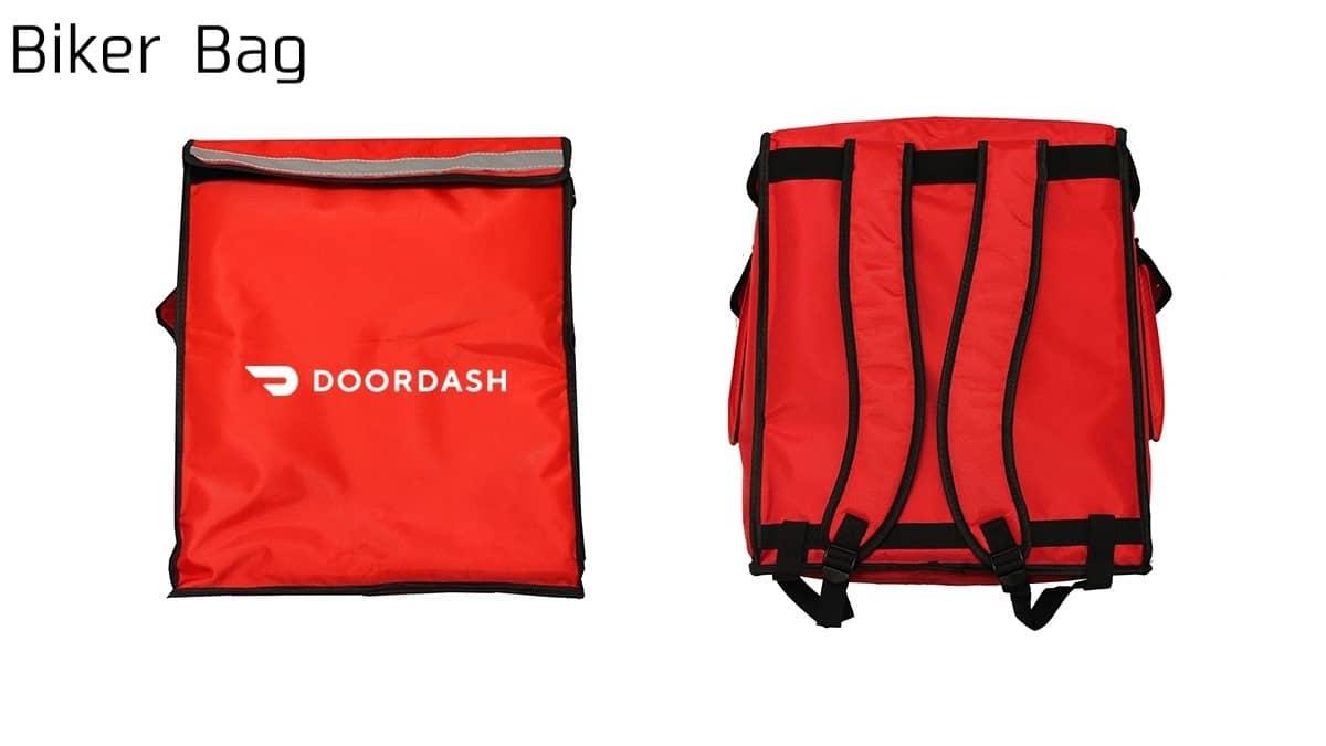 DoorDash Biker Bag(ドアダッシュバイク用配達バッグ)の画像