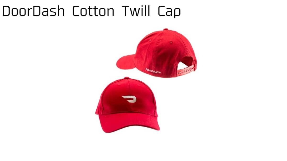 DoorDash Cotton Twill Cap(ドアダッシュキャップタイプの帽子)の画像