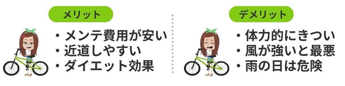 ウーバーイーツの自転車登録のメリットとデメリット
