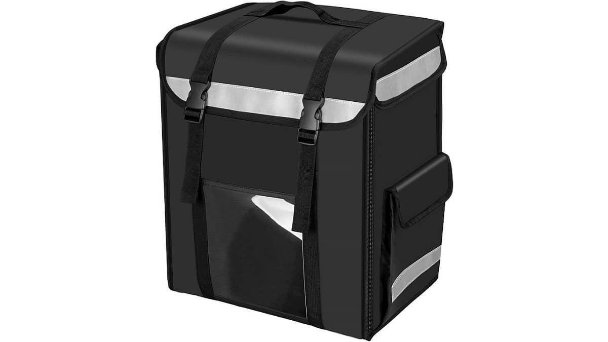 スリムボックスタイプのデリバリーバッグ