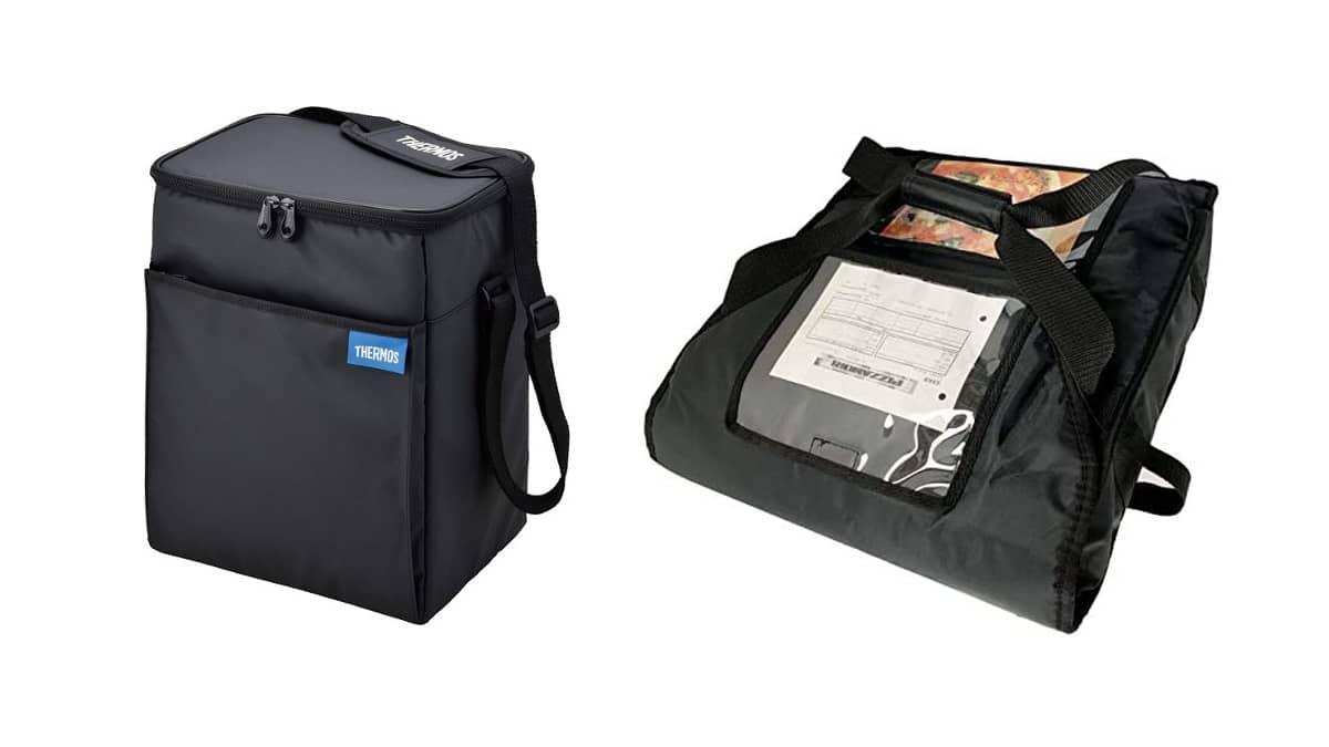 小容量タイプのデリバリーバッグ2種