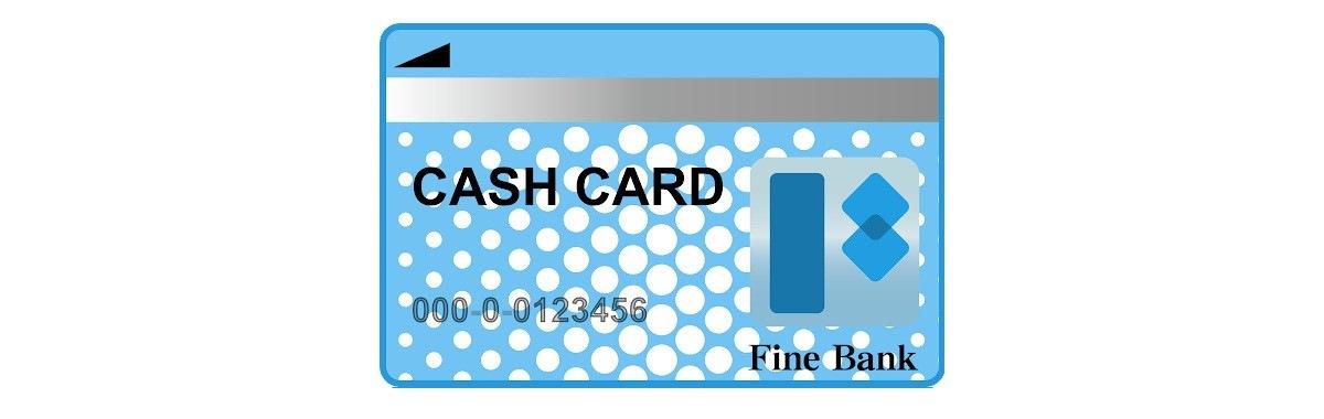 ウーバーイーツのキャッシュカード写真